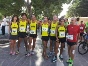 trasferta del gruppo Asd Avis Stiava a Mattinata in Puglia per la Gargano running Week